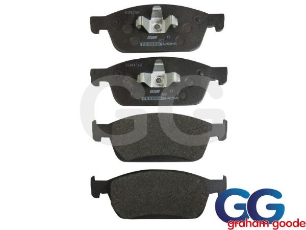 Ferodo DS2500 Front Brake Pads Ford Focus ST ST250 mk3 EcoBoost 2.0T GGF250 FCP4416H